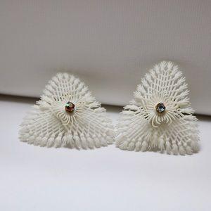 Vintage Germany clip on earrings